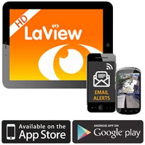 """""""LaView Live"""" & """"LaView HD"""" Mobile Apps"""