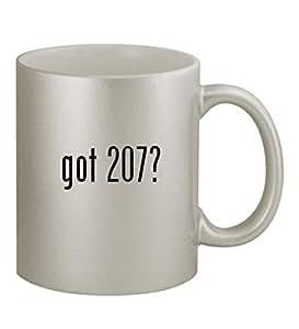 got 207? - 11oz Silver Coffee Mug