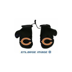1 X Rearview Mirror Mini Boxing Gloves - NFL Football - Chicago Bears Rearview Mirror Mini Boxing Glove