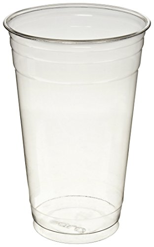 Dart TD24 24 oz Ultra Clear PET Plastic Cup (Case of 600)