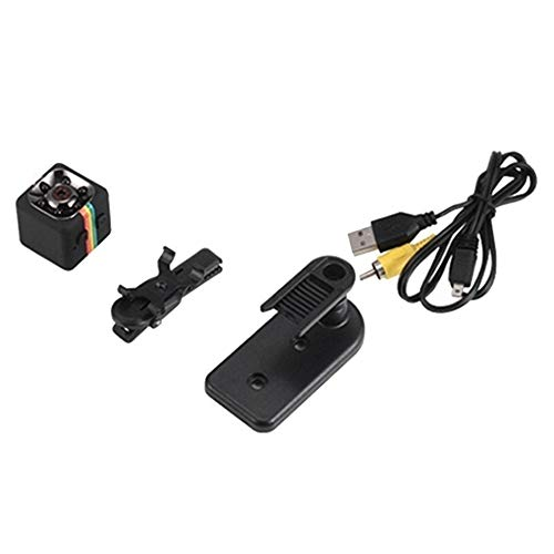 E.I.H. Mini Car DVR Camera SQ11 Mini Camera Car DVR FHD 1080P Night Vision Camcorder Infrared Video Recorder Support TF Card Sports Digital Camera (Furniture Armoire Definition)