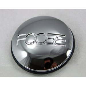 Chrome Foose Center Cap 1000-33 1000-39 (Southern Comfort Wheel Center Cap)