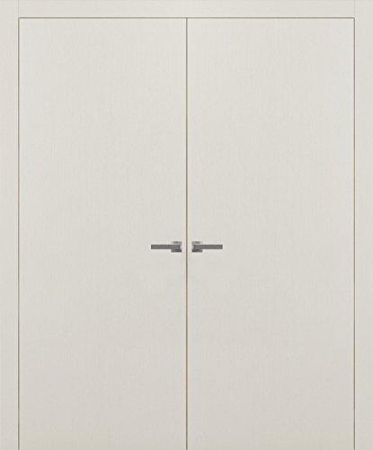 Closet French Double Doors 60 x 80   Planum 0010 Patina Antique   Frames Trims Levers   Modern Design Prehung Wardrobe Solid Wood Doors