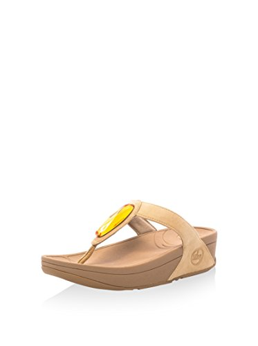 Tongs Beige Fitflop Chaussures Neuf Femme Chada HUnFgnZ7