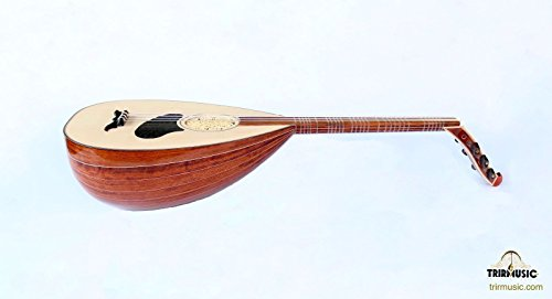 Turkish Professional Rose Louta Lavta Oud String Instrument For Sale HSL-150 by trirmusic