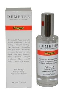 Demeter Unisex Cologne Spray, Crayon, 4 Ounce