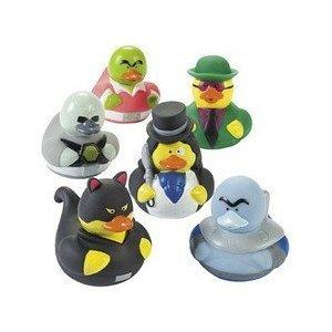 Fun Express Villain Duckies Duckys Villain Rubber Ducks (12 Count)