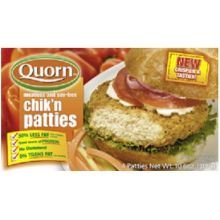 Chicken Free Patties (Quorn Foods Meat Free Crispier and Tastier Chicken Patties, 10.6 Ounce -- 12 per case.)