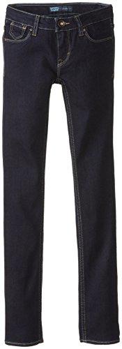 Levi's Girls 711 Skinny Fit Jeans, New Rinse, 16 Slim