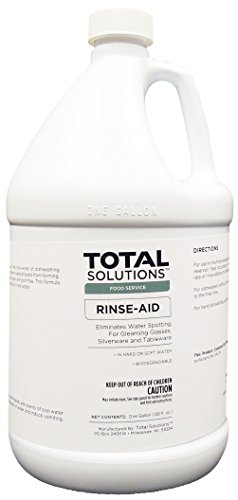 Rinse Aid, Concentrated Additive for all types of dishwashing operations - 4 Gallons by EcoClean Solutions