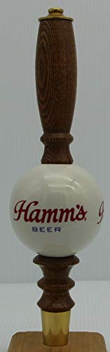 Hamm's Beer Tap Handle ceramic and wood pub style marker knob hamms