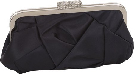 J. Furmani Satin Evening Bag (Navy) (Furmani Satin Clutch)
