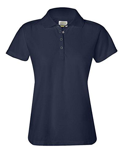 Izod Ladies' Performance Golf Piqu' Polo - NAVY - S