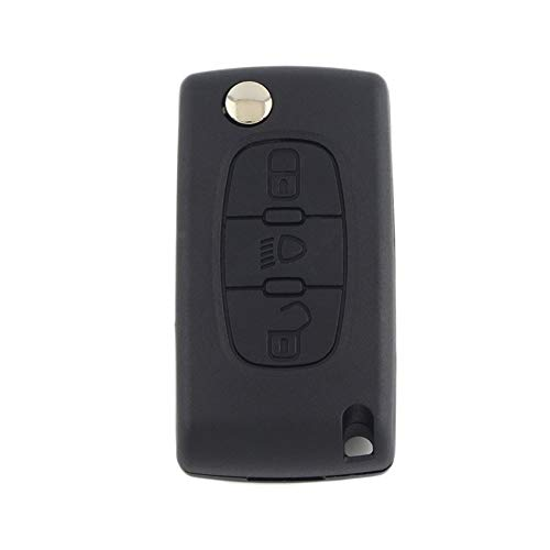 Remote Key Fob Shell Case 3 Buttons for Citroen Peugeot for sale  Delivered anywhere in Canada