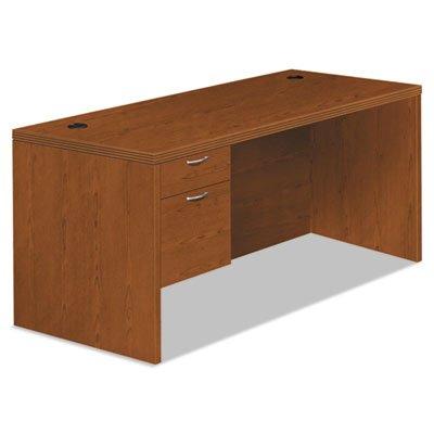 30d Bourbon Cherry (Valido 11500 Series Left Pedestal Desk, 66w x 30d x 29 1/2h, Bourbon Cherry, Sold as 1 Each)