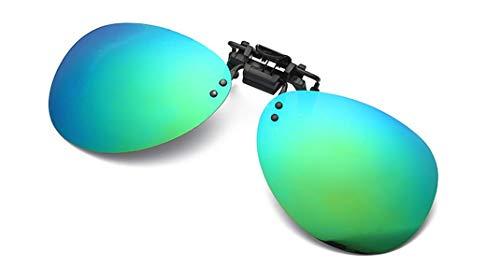 4 Contra Polarizados pesca esquí up de Sol Anteojos Hombre Dañi Gafas Color Rayos 100 En deporte de Aviador Protección Clip Lentes conducción UVB Los UVA Retro Conducir Flip pwa0qgS