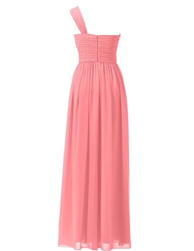 Vestiti lunghi rosa corallo