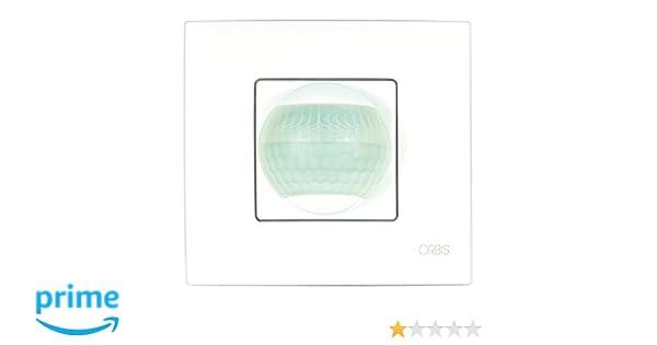 Orbis orbimat - Detector movimiento orbimat 200o 230v: Amazon.es: Bricolaje y herramientas