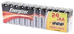 BATTERY,AA CLASSIC VALUE 24PK, ENERGIZER SPECIAL PACK 12+12 By ENERGIZER