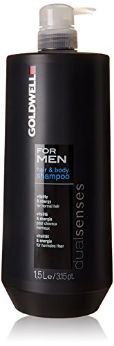 Goldwell Dualsenses for Men Hair und Body Shampoo, 1er Pack (1 x 1500 ml)