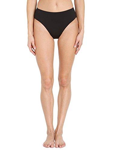 Seafolly Women's reg Retro Power Bikini Bottom, Black, 6