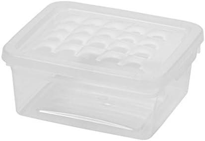 Curver - Caja para Textil y Complementos 1,8L. - Con Tapa - Color Cristal