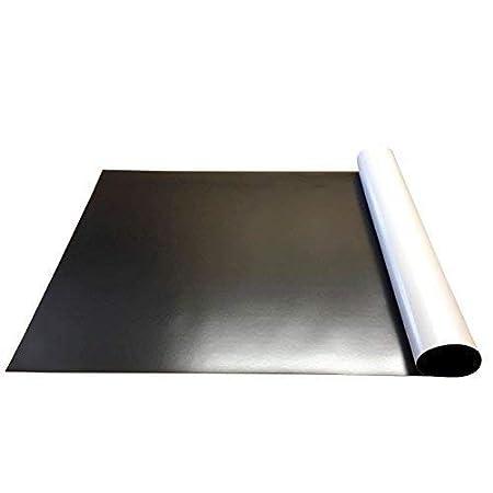 297 x 210mm pour rouleau magn/étique mouvement plateaux et aimant pr/ésentoirs 1 x A4 Sheet adh/ésif caoutchouc Acier Ferrite ferreux feuille