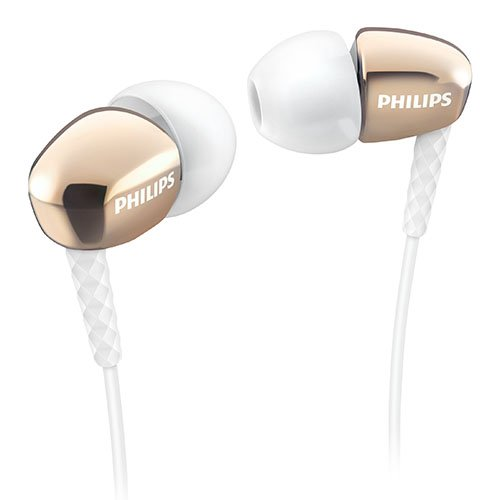 Philips SHE3900GD/27 In-Ear Headphones, Gold