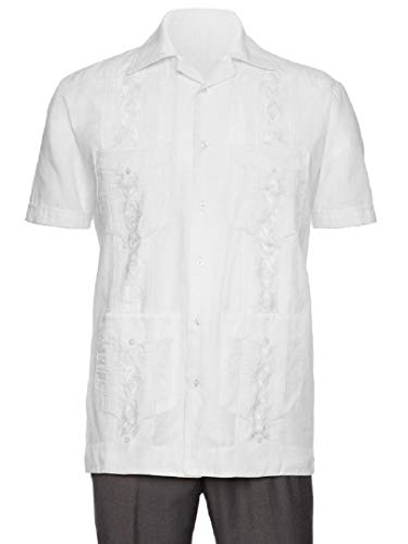 Gentlemens Collection Embroidered Guayabera Shirts for Men - guayaberas para Hombres