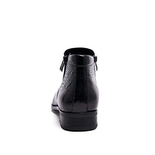 Scarpe Da Uomo Per Il Tempo Libero In Pelle Tendine Dress Autunno Business Wedding Moda Slip On Nero Nero