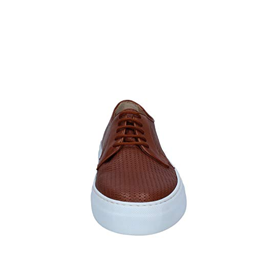 Rossano Pelle Uomo Bisconti Marrone Sneaker rX7rROH