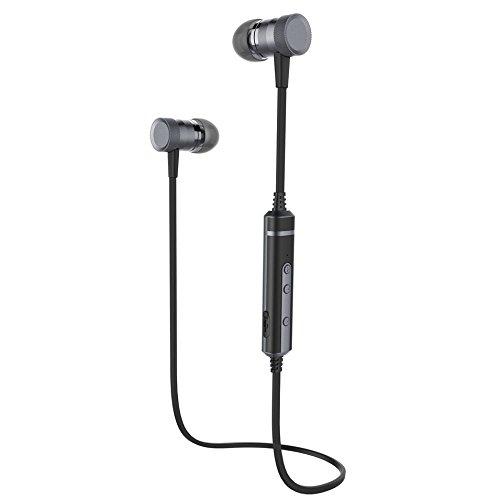 Auricular Bluetooth H6 con MIC Auriculares Deportivos Gym Gimnasio a prueba de Sudor Auriculares Bajos Inalámbricos Para iOS Teléfonos Android MP3 Video: ...