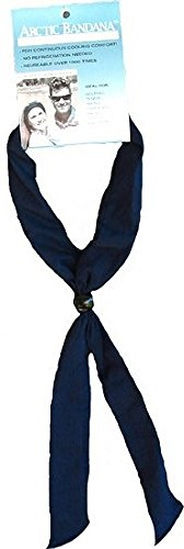 Arctic Cooling Bandana Neck Coolers Neck Cooling Scarf - Navy Blue