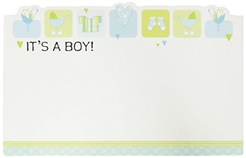 Pack Amp Burton (Burton & Burton It's A Boy Capri Cards, 50 Pack)
