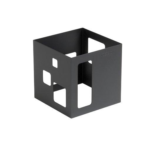 (Rosseto SM140 Square Buffet Warmer, 7-Inch, Black Matte)