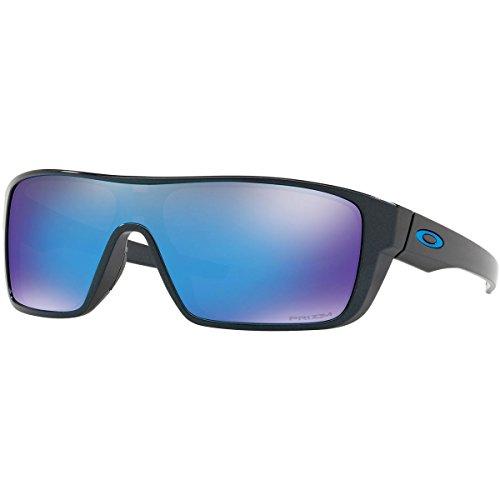 Oakley Men's Straightback Sunglasses,OS,Scenic Blue/Prizm - Oakley Suglasses