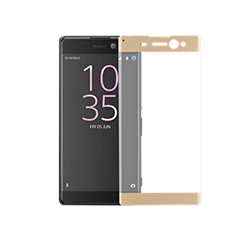 3D FULL Tempered Glass for Sony Xperia XA (Gold) - 6