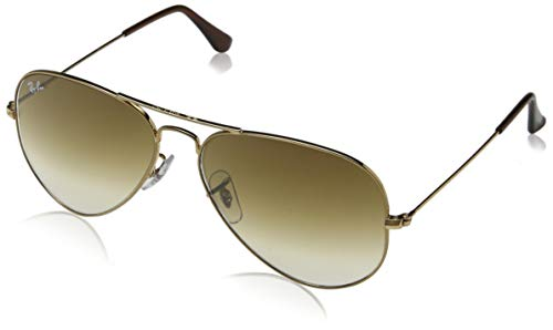Ray-Ban Aviator Metal Sunglasses RB3025 001/51 - Arista Gold Crystal Brown Gradient - Medium Size 58mm Description change to:Ray-Ban Aviator Metal Sunglasses RB3025 001/51 - Arista Gold Crystal Brown Gradient - Medium Size 58mm ()