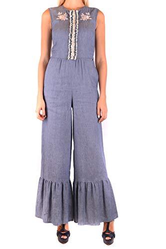 Mono Twin Mujer set Lino Azul Ezbc060152 xqXgq60wrE