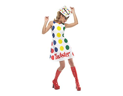 [Women'S Costume: Twister- Large *** Product Description: Game Print Dress And...] (Twister Game Costumes)