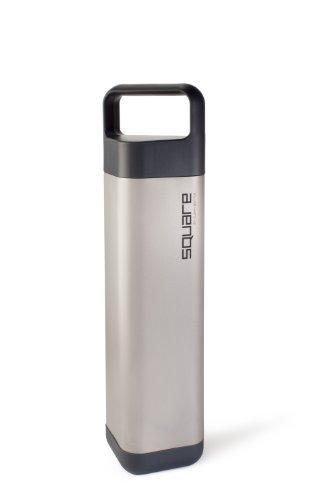 Stainless Steel Rectangle Bottle, Black