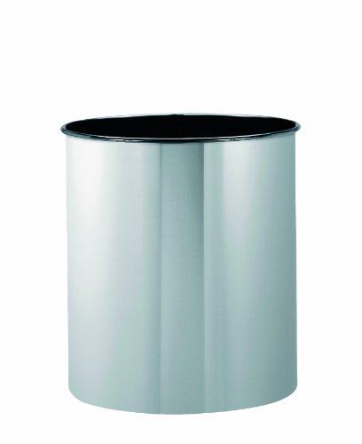 Brabantia Waste Paper Bin, Matt Steel, 7 Litre, 311888