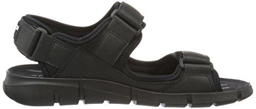 ECCO Intrinsic Sandal, Sandalias para Hombre Negro (51052black/black)