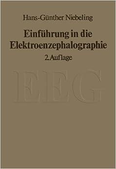 Book Einführung in die Elektroenzephalographie