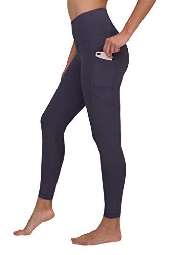 90 Degree By Reflex High Waist Interlink Yoga Pants - Summer Fig - XS