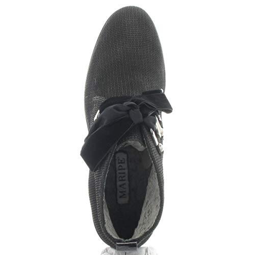 Color 5 Lisa 172558 Piel 39 Mujer Negro Eu 27289 De Maripé Zapatillas Talla qgP50xZX