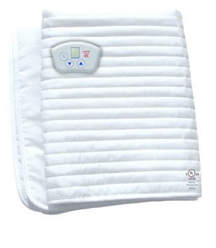 Massage table warmer,  Heated Mattress Pad by Electrowarmth,  Non-Fitted, Size 24 x 60, Model# MT24