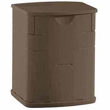 rubbermaid deck storage box mocha 26 cubic feet