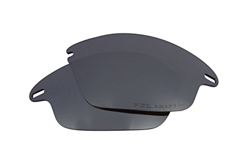 - Fast Jacket Asian Replacement Lenses Polarized Black Iridium by SEEK fits OAKLEY