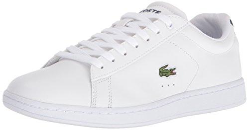 Lacoste Dames Carnaby Evo Sneaker Wit / Marine
